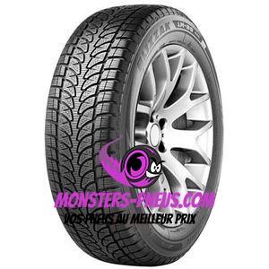 Pneu Bridgestone Blizzak LM-80 EVO 245 70 16 107 T Pas cher chez Monsters Pneus
