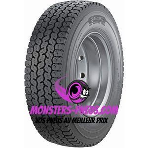 Pneu Michelin X Multi D 305 70 22.5 154 L Pas cher chez Monsters Pneus