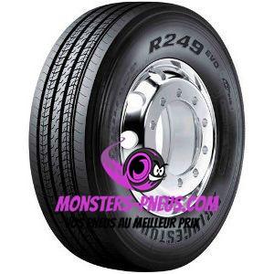 Pneu Bridgestone R249 II EVO Ecopia 355 50 22.5 156 L Pas cher chez Monsters Pneus