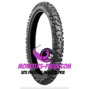 Pneu Bridgestone Battlecross X40 110 100 18 64 M Pas cher chez Monsters Pneus