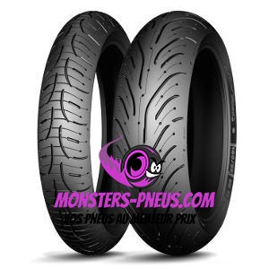 Pneu Michelin Pilot Road 4 GT 190 50 17 73 W Pas cher chez Monsters Pneus