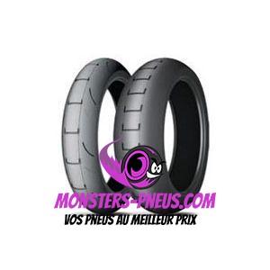 Pneu Michelin Power Supermoto 120 75 16.5   Pas cher chez Monsters Pneus