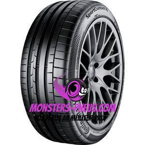 pneu auto Continental SportContact 6 pas cher chez Monsters Pneus
