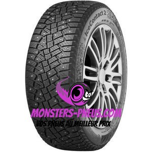 Pneu Continental IceContact 2 275 40 21 107 T Pas cher chez Monsters Pneus