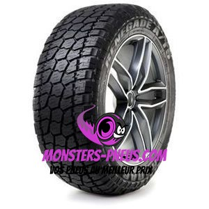 Pneu Radar Renegade A/T-5 285 75 16 126 R Pas cher chez Monsters Pneus