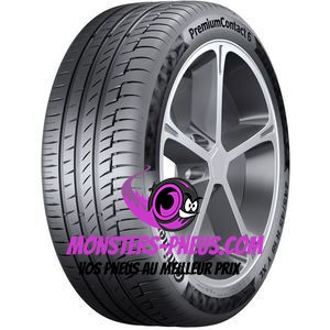 Pneu Continental PremiumContact 6 235 45 19 99 V Pas cher chez Monsters Pneus