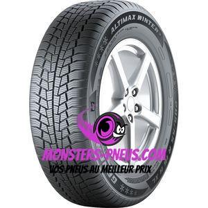 Pneu General Tire Altimax Winter 3 155 80 13 79 T Pas cher chez Monsters Pneus