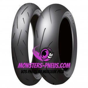 Pneu Dunlop Sportmax Alpha 13 SP 110 80 18 58 W Pas cher chez Monsters Pneus
