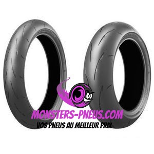Pneu Bridgestone Battlax Racing R11 120 70 17 58 V Pas cher chez Monsters Pneus