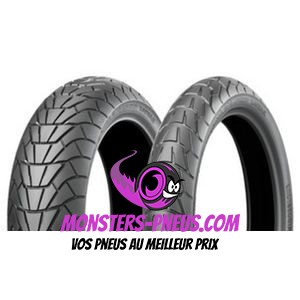 Pneu Bridgestone Adventurecross Scrambler AX41S 100 90 19 57 H Pas cher chez Monsters Pneus
