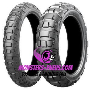 Pneu Bridgestone Adventurecross AX41 120 90 17 64 P Pas cher chez Monsters Pneus