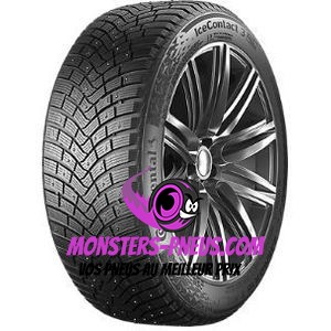 pneu auto Continental IceContact 3 pas cher chez Monsters Pneus
