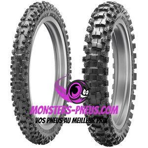 Pneu Dunlop Geomax MX53 70 100 10 41 J Pas cher chez Monsters Pneus