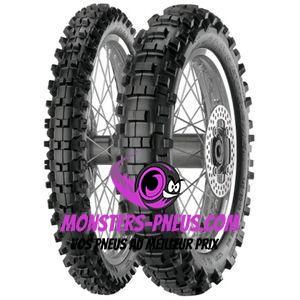 Pneu Metzeler MCE 6 Days Extreme 90 100 21 57 M Pas cher chez Monsters Pneus
