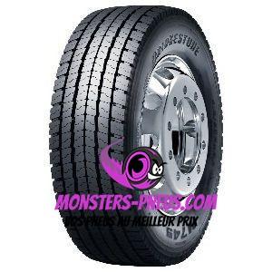 Pneu Bridgestone M749 315 45 22.5 147 L Pas cher chez Monsters Pneus