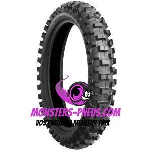 Pneu Bridgestone Moto Cross M204 80 100 12 41 M Pas cher chez Monsters Pneus