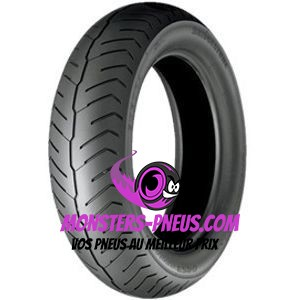Pneu Bridgestone Exedra G853 130 70 18 63 H Pas cher chez Monsters Pneus