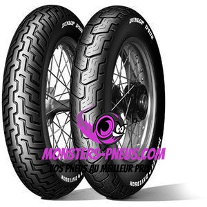 Pneu Dunlop D402 Touring Elite II 85 0 16 77 H Pas cher chez Monsters Pneus