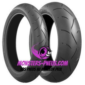 pneu moto Bridgestone Battlax BT-003 Racing Street pas cher chez Monsters Pneus