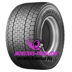 Pneu Bridgestone Greatec Mega Drive M709 495 45 22.5 169 M Pas cher chez Monsters Pneus