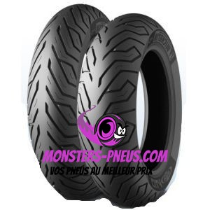 Pneu Michelin City Grip 100 80 10 53 L Pas cher chez Monsters Pneus