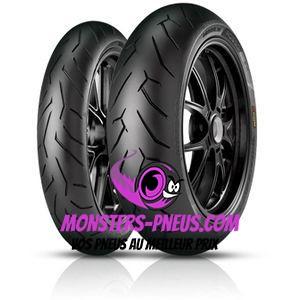 Pneu Pirelli Diablo Rosso II 240 45 17 82 W Pas cher chez Monsters Pneus