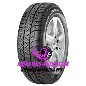 Pneu Pirelli W190 Snowcontrol Serie 3 195 70 16 94 H Pas cher chez Monsters Pneus