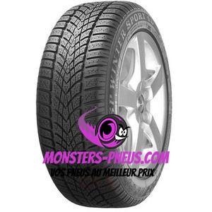 pneu auto Dunlop SP Winter Sport 4D pas cher chez Monsters Pneus