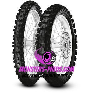 Pneu Pirelli Scorpion MX Extra J 110 90 17 60 M Pas cher chez Monsters Pneus
