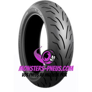 Pneu Bridgestone Battlax Scooter 110 80 14 53 P Pas cher chez Monsters Pneus
